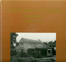 """PITTS/CHAMP """"COLLIN COUNTY, TEXAS FAMILIES VOLUME II"""" 1998 1ST HC NF SIGNED"""