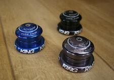"""Nouveau CHRIS KING InSet i7 Head Set pour conique 1.5"""" Pivot zs44 ec44 étain"""