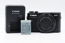 Canon PowerShot G7X Mark II 20.1MP Digital Camera G7 X w/4.2x Zoom #810
