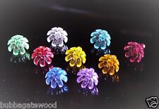 144  FLOWER Bulbs 9 Color Ceramic Christmas Tree Twist flame light crafts star