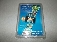 Coby 1.5 inch DP-151 up to 60 pictures capacity digital photo album keychain new