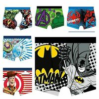Boys Official Superhero Marvel Disney Boxer shorts Underwear Age 4 5 6 7 8 9 10