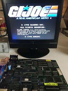 Original Konami GI Joe Arcade PCB , 4 player