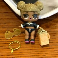 LOL SURPRISE DOLL SERIES 1 QUEEN BEE RARE CUSTOM DRESS REAL toy