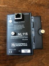 Campbell Scientific NL116 Ethernet/Compact FlashModule CR1000 CR3000 Datalogger