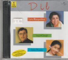 Dil By jagjit Singh , Lata Mangeshkar , Asha Bhosle  [2Cds set] 1 free Cd Inside