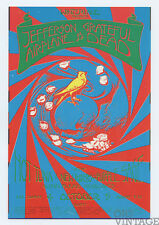 Grateful Dead Jefferson Airplane Handbill 1970 Oct 4 Winterland San Francisco