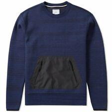 Nike Nikelab Tech Crew Obsidian Trui Pullover Sweater 812986 473 Blue M