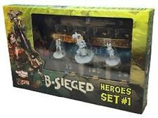 B SIEGED HEROES SET 1 EXPANSION GAME BRAND NEW & SEALED CHEAP!!