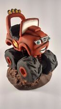 Blaze and the monster machine cake topper Handmade edible birthday unofficial