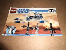 Vintage LEGO Instruction Manual Star Wars 8015
