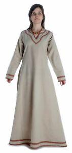 Wikinger Kleid Hildr aus Baumwolle | HEMAD Gewandung LARP Mittelalter Unterkleid