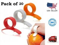 Easy Opener Lemon Orange Peeler Slicer Cutter Plastic Kitchen Tools (Pack of 20)