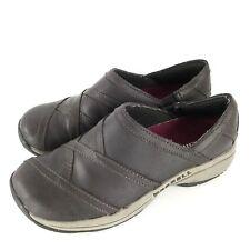 Merrell Women's Jovilee Lattice Espresso Slide On Loafer Shoes Size 6