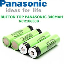 Door Bell & Torcia Genuine Panasonic 3400mAh NCR18650B pulsante Top Li-Ion Battery