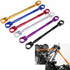 2x Universal Motorcycle Handlebar Cross Bar Adjustable for Honda Kawasaki Yamaha