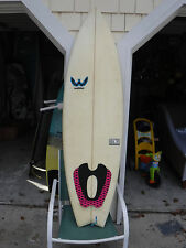 6'0 WEBBER PULSE SURFBOARD//FINS, LEASH WAX INCLUDED!/FREE SHIPPING!