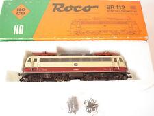 ROCO LOCOMOTIVE ELECTRIQUE BR 112 DE LA DB  REF. 14138S - ECHELLE H0 1/87
