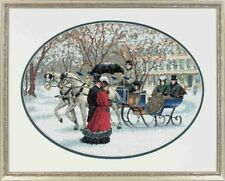DIMENSIONS  GOLD COLLECTIONS  *WINTER IMPRESSIONS*CROSS STITCH KIT  Kreuzstich