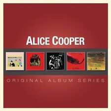 ALICE COOPER 5CD NEW Pretties For You/Easy Action/Love Death/Killer/School's Out