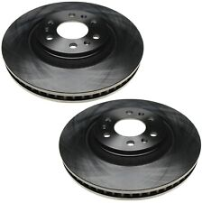 Pair Set of 2 Vented Front Disc Brake Rotors ACDelco For Cadillac SRX 2004-2009