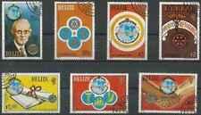 Timbres Rotary International Bélize 512/8 o lot 27835
