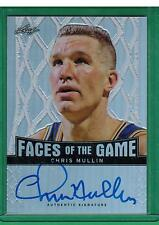 2013 LEAF CHRIS MULLIN FACES OF THE GAME AUTO /50