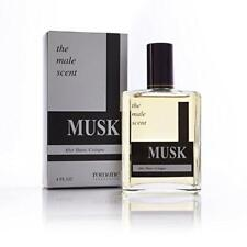 Musk Cologne Spray (4 oz) - The Male Scent - Tru Fragrance