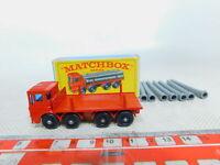 BY333-0,5# Matchbox No. 10 Pipe Truck/LKW Leyland, sehr gut+OVP