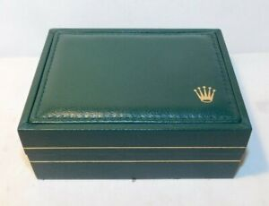 RARE old Rolex Green Watch Box