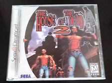 House of the Dead 2 – Dreamcast – white label - complete, excellent condition!