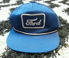Vintage Young An Headgear Ford snapback mesh Hat 1980s