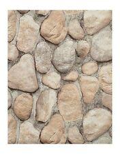 York Wallcoverings RN1064 Modern Rustic River Rock Wallpaper