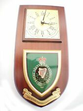 RUC Royal Ulster Constabulary Wall Plaque & Clock old style