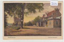 569, Niederstetten Partie am Bahnhof tolle Color Karte gelaufen 1929 !