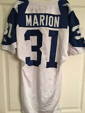 Brock Marion Dallas Cowboys Game Used Worn Jersey Vs Lions 1994 MNF Throwback