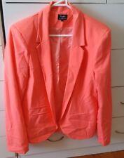 BARDOT Fluro Pink Jacket Work Office Tailored Size 12