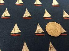 OFF Shore c4924 Riley Blake tessuto barche FQ o più BLU 100% COTONE Craft Ragazzi