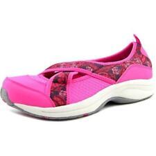 Zapatos planos de mujer de color principal rosa de lona