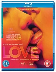 Love 2D and 3D [Blu-ray] [DVD][Region 2]