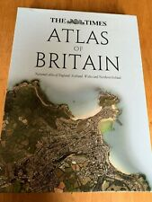 The Times Atlas of Britain by Times Atlases Hardback 2012  + Slipcase VGC (3T03)