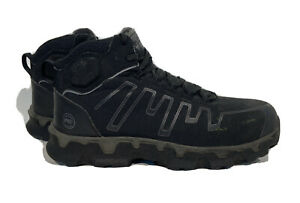 Timberland Pro Men's 10.5 Med Ridgework Work Boots Mid Waterproof Comp Toe Black