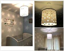 Kids Ceiling Light Shade Pendant Nursary Children Bedroom lampshade Birthday Gif