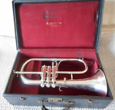 Ancien BUGLE ANTOINE COURTOIS  FLUGELHORN antique old