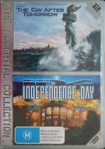 The Day After Tomorrow  / Independence Day (DVD, 2006, 2-Disc Set)