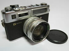 Yashica Electro 35 GSN Classic Rangefinder Street Camera Fast f1.7 45mm Lens