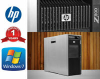HP Workstation Z800 2x Xeon X5670 12-Core 2.93GHz 96GB DDR3 6TB HDD + 240GB SSD