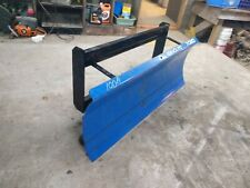 "60"" New Holland SKIDSTEER Snowplow SKID STEER Snow plow pusher 5'  tractor"