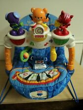 Fisher Price Calming Vibrations Kick & Play Musical Baby Bouncer Seat Vintage