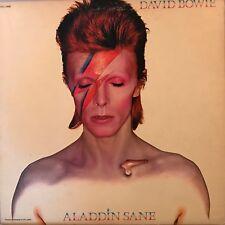 "DAVID BOWIE ""Aladdin Sane"" Vinyl LP - 1980 RCA Victor AYL1-3890 EX- / VG++"